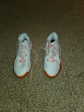 Adidas Crazy Light Boost Running Browns Orange White size 15 Shoes + Socks XXL