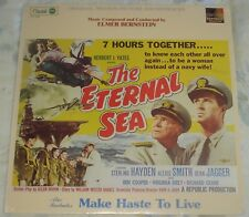 THE ETERNAL SEA/MAKE HASTE TO LIVE (Elmer Bernstein) rare sealed lp (1982)