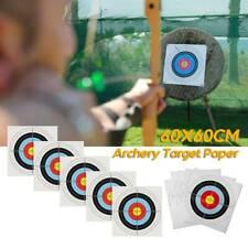 10*Zielscheiben Bogenschießen Auflagens Papierauflagens 60cm*60cm 10-Kreisig