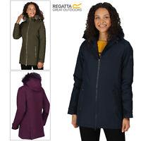 Regatta Myla Womens Ladies Thermo Guard Insulated Waterproof Parka Coat Jacket