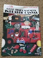 Good Times Magnets In Plastic Canvas Leaflet Leisure Arts #1342