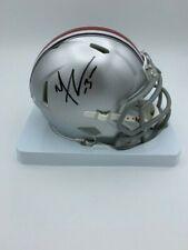 Michael Thomas Signed Ohio State Speed Mini Helmet Coa Hologram