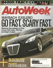 August 1 2005 Autoweek Maybach Exelero 1907 Brasier Type Racing Course Mille