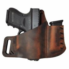 Versacarry Commander OWB Leather Holster - Size 3 - Fits SCCY CPX-1