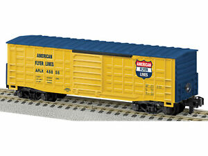 American Flyer 6-48855 S Scale American Flyer Lines Waffle-Side Boxcar