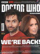 Doctor Who MAGAZINE #498 John Leeson David Tennant Catherine TATE Sadie Miller