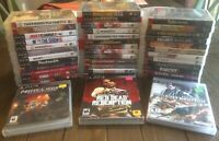 SONY PlayStation 3 PS3 You Pick & Choose Video Game Lot-TESTED Buy 3 Get 1 FREE