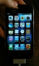 Apple iPod Touch 4th Generation Black 32Gb A1367 Mc540Ll/A - Cracked Screen