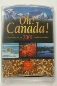 2001 OH! Canada! Uncirculated 7 Coin Set