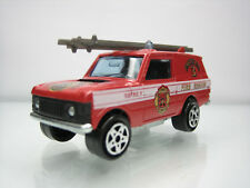 Diecast Majorette Range Rover Fire Rescue No. 246 Red Very Good Condition