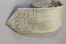 Robert Talbott men's Geometric Ivory tie $155