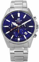 Casio Edifice Men's Quartz Chronograph Blue Dial 44mm Watch EFV-510D-2AV