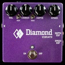 NEW DIAMOND EFFECTS TRUE VIBRATO PEDAL - BUCKET BRIGADE ANALOG DELAY TECHNOLOGY