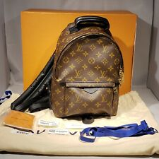 Brand New Authentic Louis Vuitton Palm Springs PM Monogram Backpack M44871