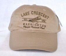 *LAKE CRESCENT WASHINGTON OLYMPIC NATIONAL PARK* Fly fishing Ball cap hat OURAY