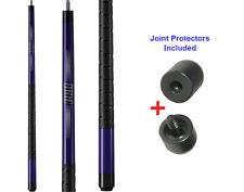 Viper 50-0703 Revolution Sure Grip Black Pool Cue 18-21oz & Joint Protectors