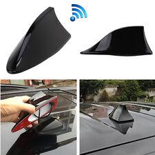 Black Wireless Shark Fin Style Auto Car Roof Radio AM/FM Signal Aerial Antenna