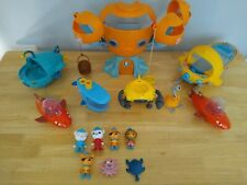 Octonauts Octopod, Vehicles And Figures Bundle