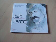 livre  JEAN FERRAT aimer à perdre la raison