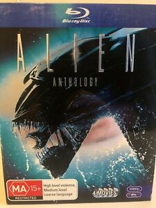 Alien Athology (Blu ray) and Alien Covenant Steel Book (Blu Ray)