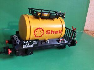 Playmobil 4107 Shell Eisenbahn Waggon, auch LGB Spur G