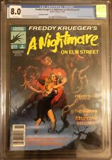 Freddy Krueger's Nightmare on Elm Street 2 CGC 8.0 newsstand! What a cover/back!