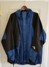 Vintage The North Face Gore-Tex Mountain Light Parka Jacket Mens XXL 2XL Blue