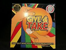 NIB¤Give & Take Family 3 in 1 Board game 6 & up, 100 Best Children's Winner 2001