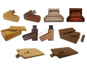 Top Popular Wooden USB Flash Drives Pen Memory Stick Digital Photo Gift