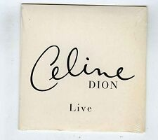 1 TRACK (PROMO) CD SINGLE (SEALED) CELINE DION LIVE