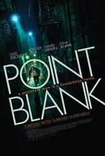 POINT BLANK Movie POSTER 27x40 Gilles Lellouche Roschdy Zem Gerard Lanvin Elena
