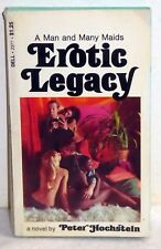 Erotic Legacy by Peter Hochstein (Dell, 1970) PB 2nd Printing