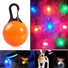 Pet Safety LED Collar Flashlight Necklace Bright Glowing Pendant for Dog and Cat