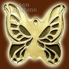 24K GOLD BUTTERFLY - 1/2 Half Gram 11mm One Dollar Coin in Capsule + Certificate