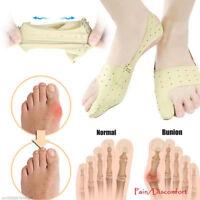 2x Adult Elastic Bunion Corrector Foot Big Feet Bones Straightener Toe Care Tool