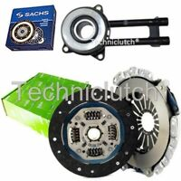 VALEO 2 PART CLUTCH KIT WITH SACHS CSC FOR FORD FIESTA V HATCHBACK 1.4 16V