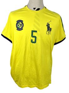 Polo Sport - Ralph Lauren Performance - Brazil Soccer Shirt XL Big Pony #5