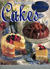 Cakes by Family Circle Editors FREE AUST POST very good used condition paperback