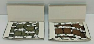 DMC Flower Thread Floss 2 Boxes - Dark Beige Brown & Ultra Very Dark Beige Gray