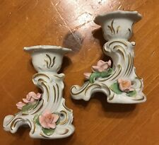 Vintage Alka Kunet Ceramic Made In West Germany Candle Stick Holder