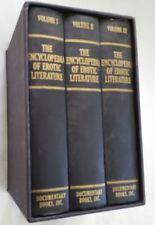 Encyclopedia of Erotic Literature. Index Librorum Prohibitorum: Being Notes Bio-