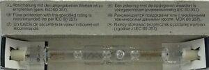 2 x Radium 150W 150 Watt 118mm 240v LINEAR HALOGEN FLOOD LIGHT Made in Germany