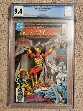 THE FURY FIRESTORM #35 (1985) 9.4 CGC! VERY RARE! WEASEL/SUICIDE SQUAD! 🔥🔥