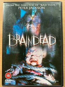 Braindead DVD aka Dead Alive 1992 New Zealand Zombie Horror Film Movie Classic