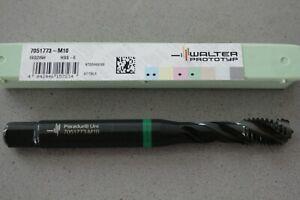 Walter / Titex Spiral Flute Tap - M10 HSS-E 7051773-M10