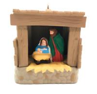Starlit Nativity Hallmark Keepsake, Miniature NEW MINT Christmas Bible Nativity