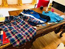 $280 DESIGNER LOT BOYS 8 10 POLO RALPH LAUREN PLAID SHIRT Sweatshirt SWIM TRUNKS