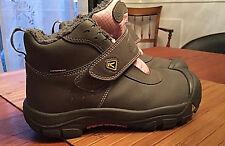 Keen Girls  4  eur 37  uk 3   warm Waterproof Winter  ankle Boots. Pink.  Gray