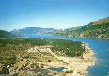Alte Postkarte - Crots - Les campings sur la rivage du la de Serre-Poncon