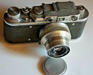 ZORKI 1 type C-Export,de 1951/53 (PM1080) +Industar 22 RIGIDE3,5/5 cm +cap + sac